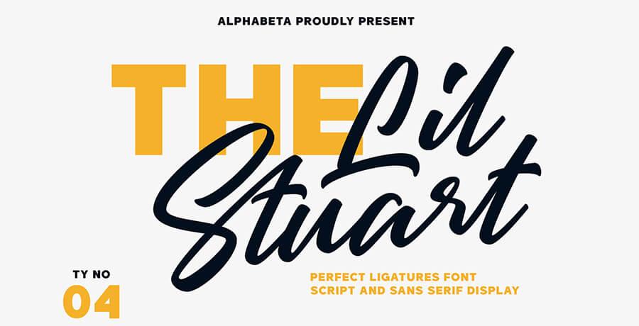 Fonts For Posters - Lil Stuart Fonts