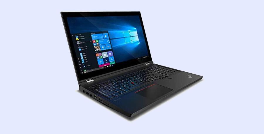 Best Lenovo Laptop For Designers - ThinkPad P15 Gen 1 Laptop