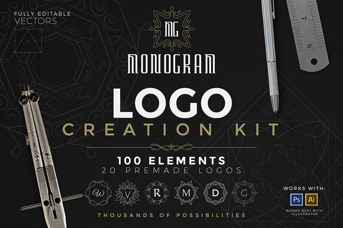 Best Premium Logo Design Font - Logo Creation Kit
