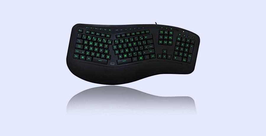 Keyboard For Graphic Design - Adesso Tru-Form 150