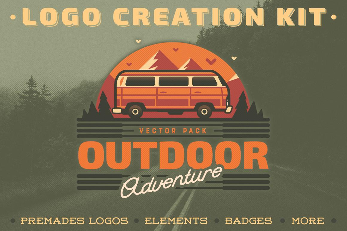 Best Premium Fonts - Outdoor Adventure