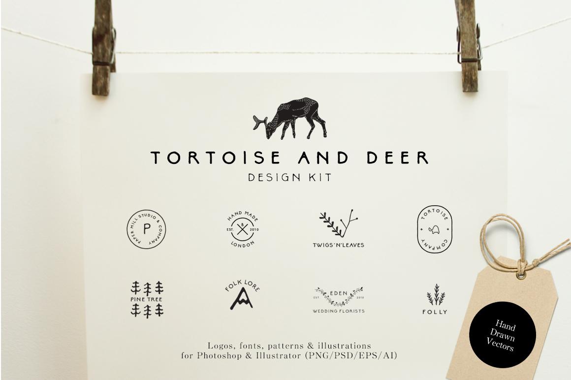 Best Premium Font - Tortoise and Deer
