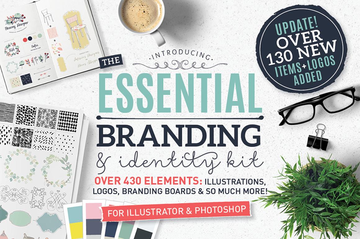 Best Premium Logo Design Font - Essential Branding & IdentityKit