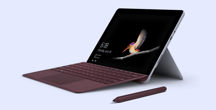 Touchscreen Laptop For Graphic Designer - Microsoft Surface Go