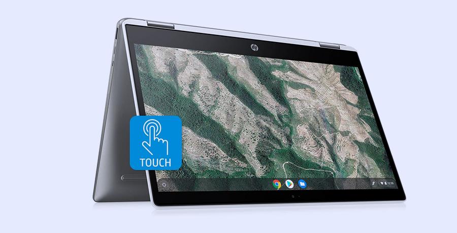 Best Touchscreen Laptop - HP Chromebook x360 Laptop