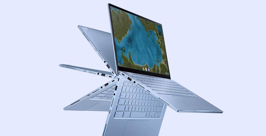 Best Touchscreen Laptop For Designer - ASUS Chromebook Flip C433