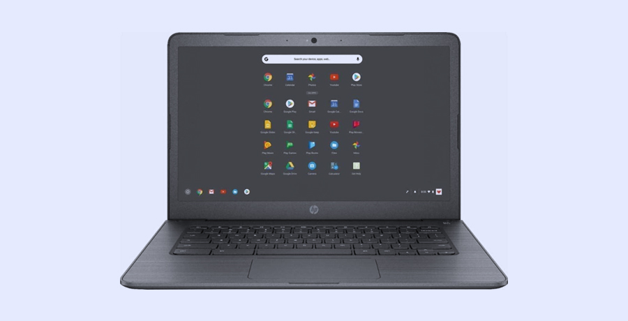 Touchscreen Laptop For Graphic Designer - HP 14-inch Chromebook