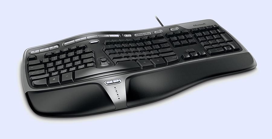 Best Keyboard For Graphic Design - Microsoft Natural Ergonomic