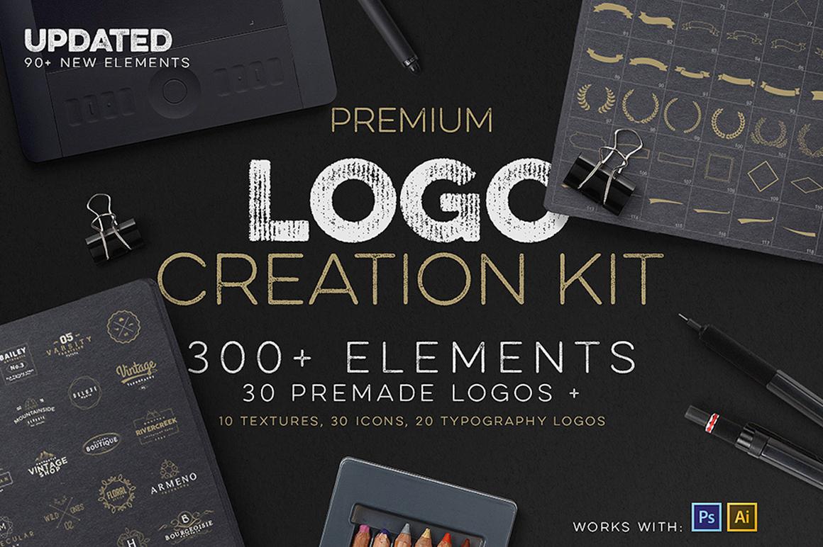 Best Premium Fonts - Logo Creation Kit