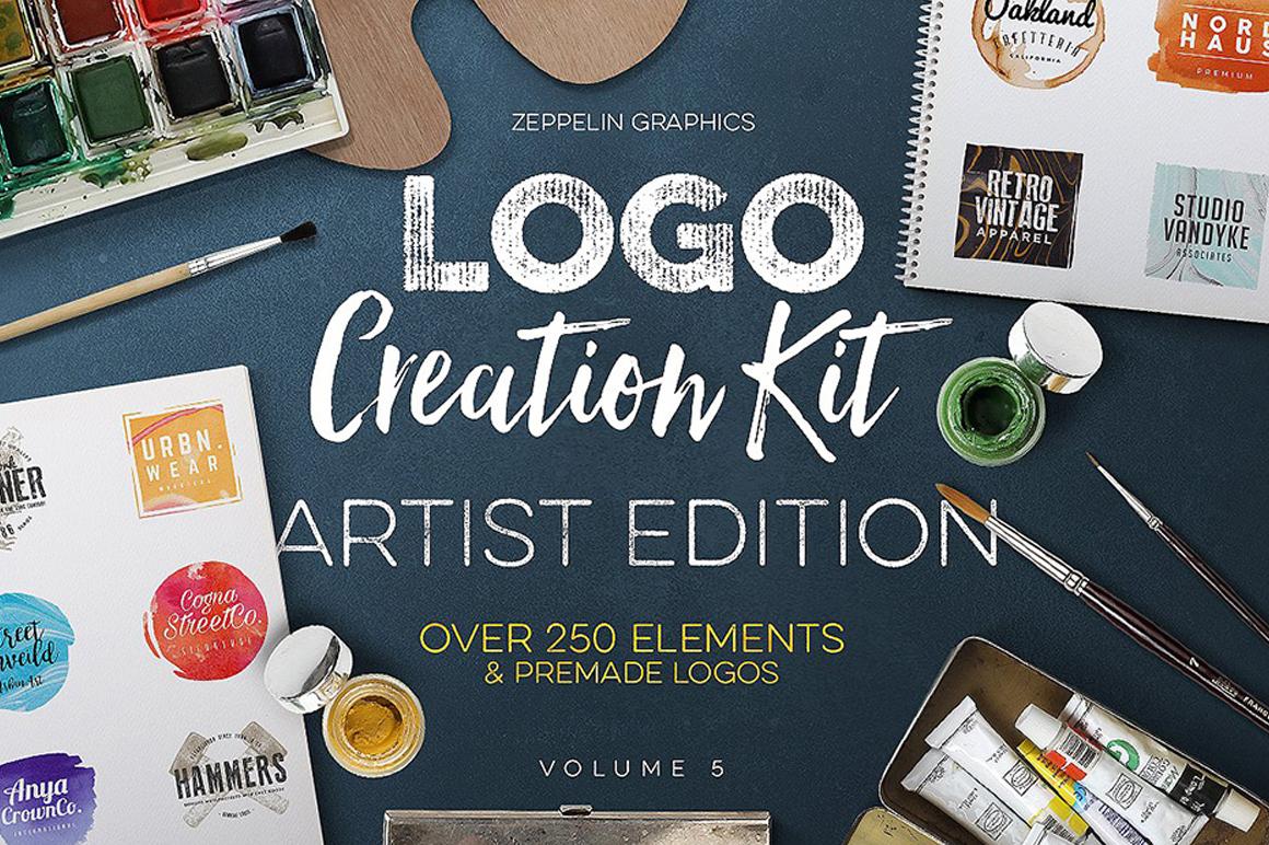 Premium For Logo Designing - Logo Creation Kit Vol. 5