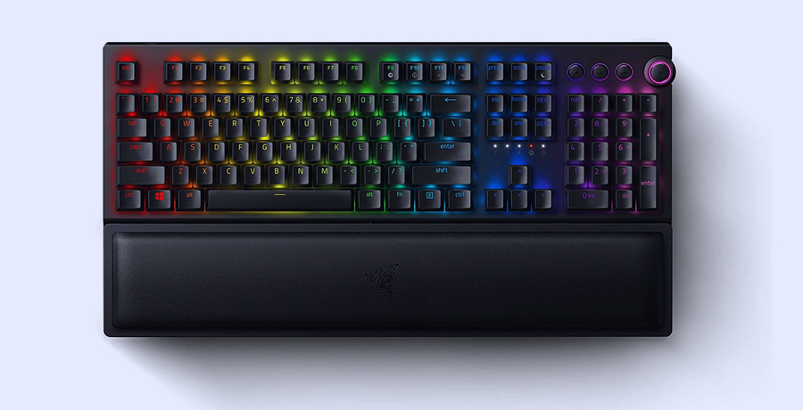 Keyboard For Graphic Design - Razer BlackWidow V3 Pro
