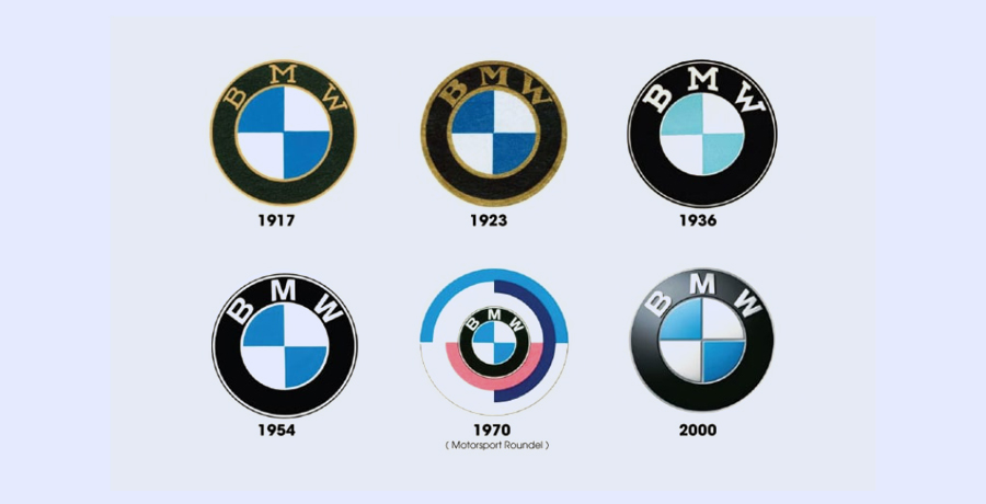 3D look BMW Logo