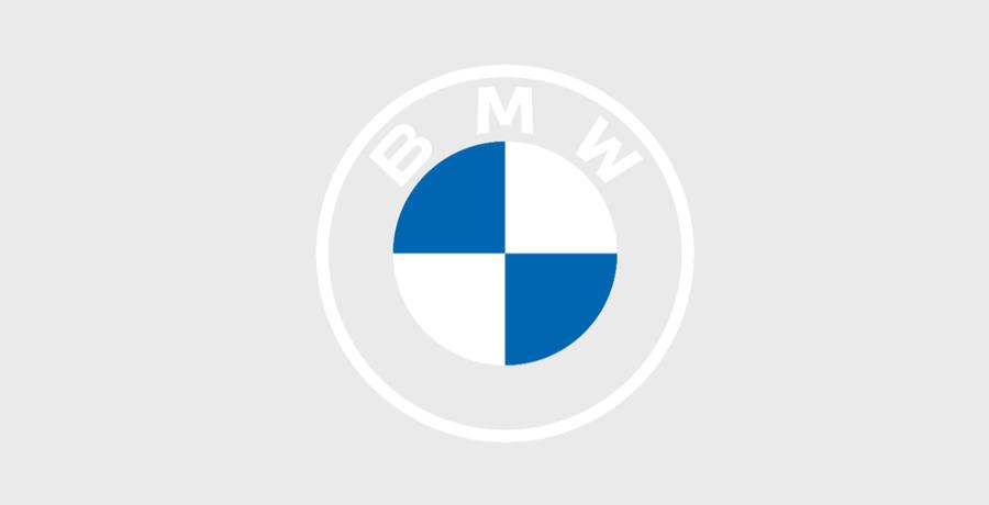 2D Version Of BMW Logo