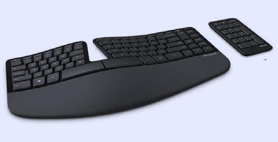 Best Keyboard For Graphic Design - Microsoft Sculpt Ergonomic