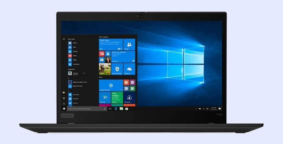 Best Lenovo Laptop For Designers - ThinkPad T14 Gen 1 Notebook