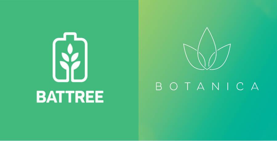 Logo Design Trends - Battree Botanica