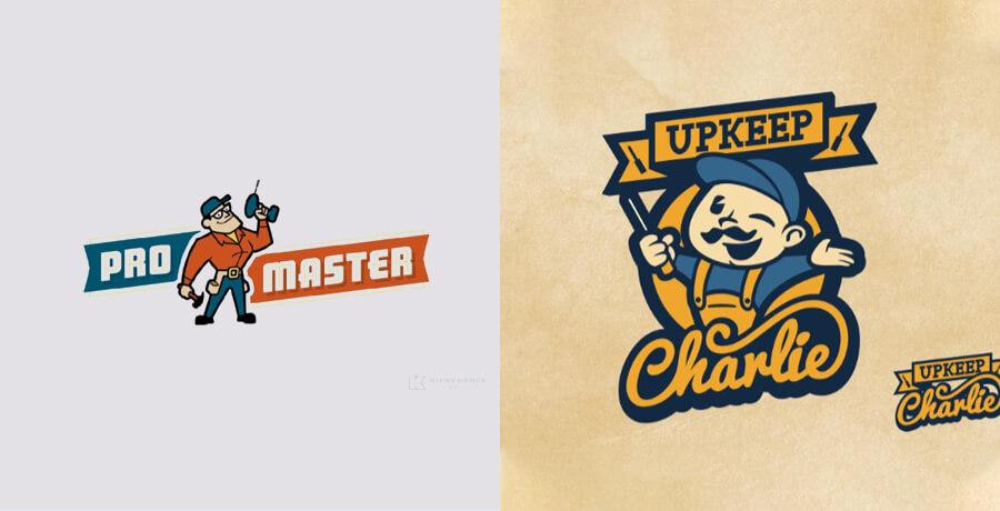 2021 Logo Design Trend - Pro Master Unkeep Charlie