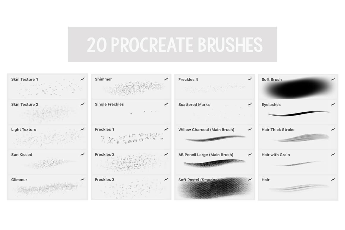 Texture Brushes - Procreat