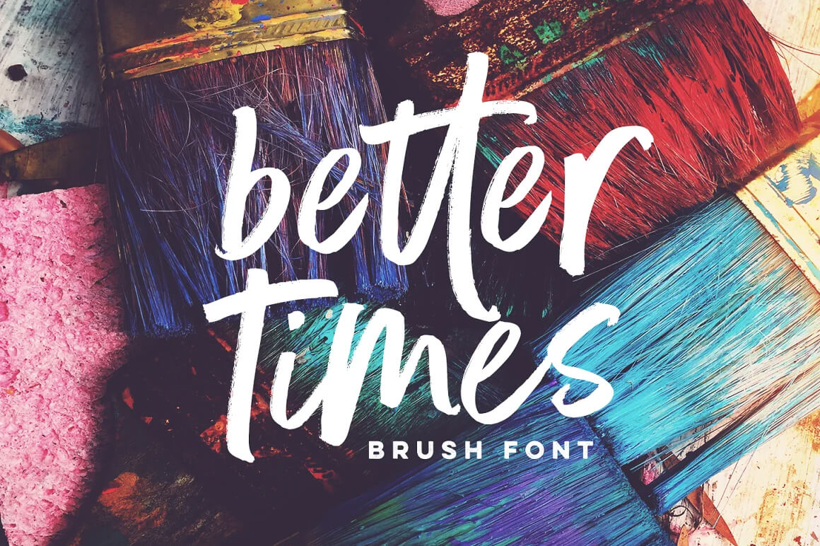 Best Graffiti Font - Better Times