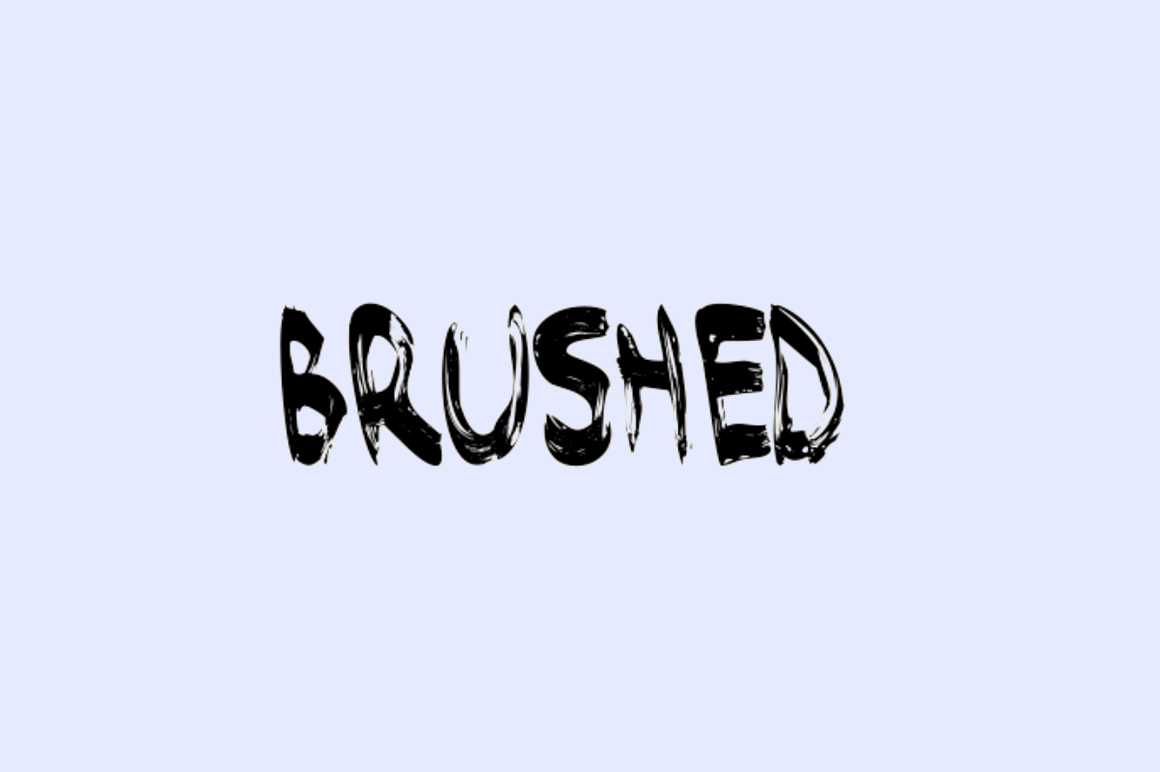 Free Graffiti Fonts - Brused