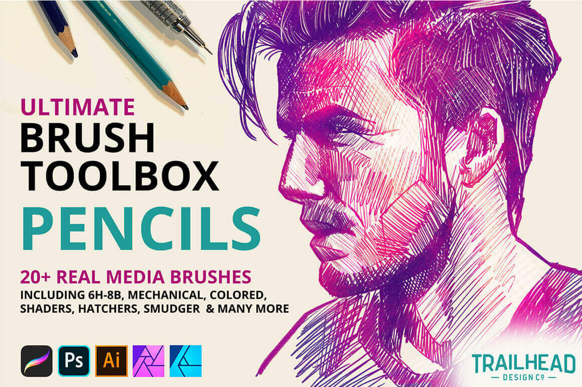Texture Brushes For Procreate - Ultimate Brush Toolbox