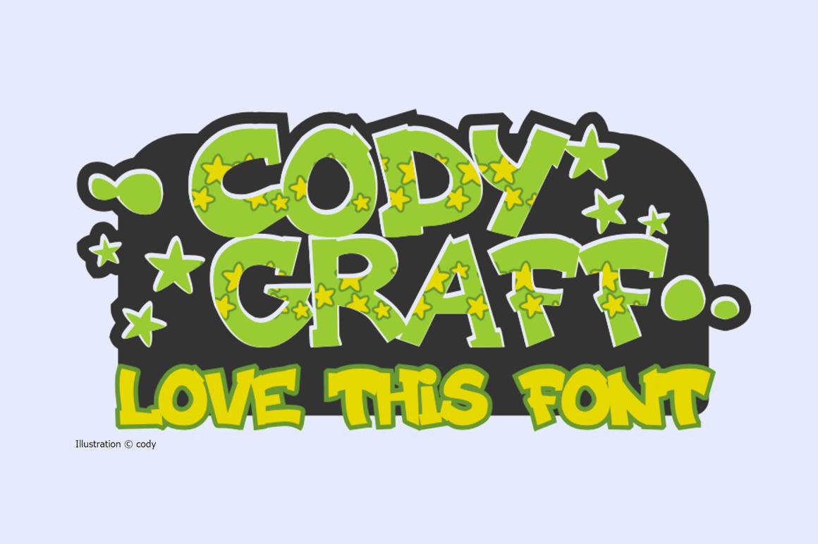 Free Graffiti Font - Cody Craft
