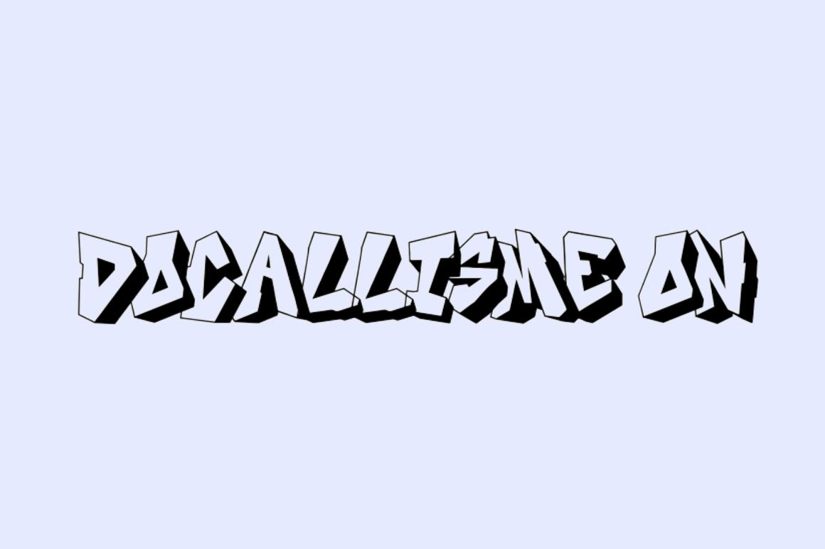 Free Graffiti Font - Docallisme
