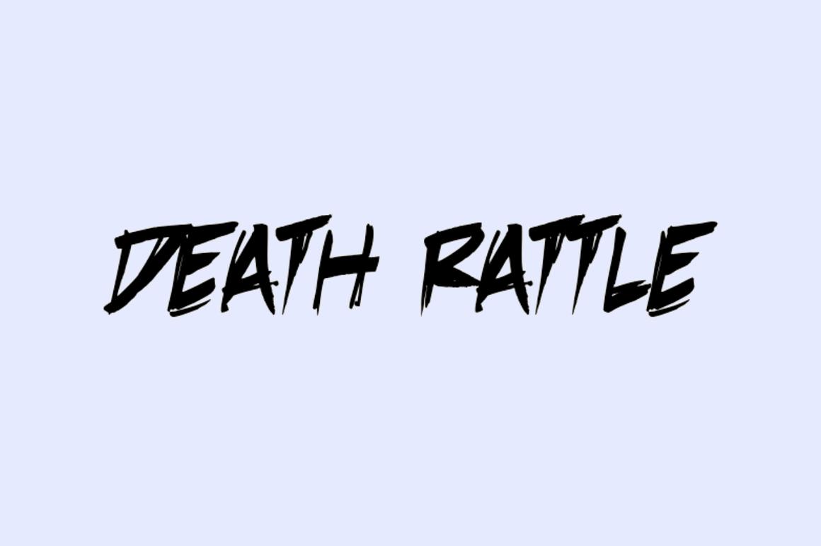 Free Graffiti Fonts - Death Rattle