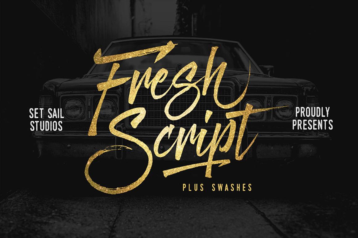 Graffiti Letters Font - Fresh Script