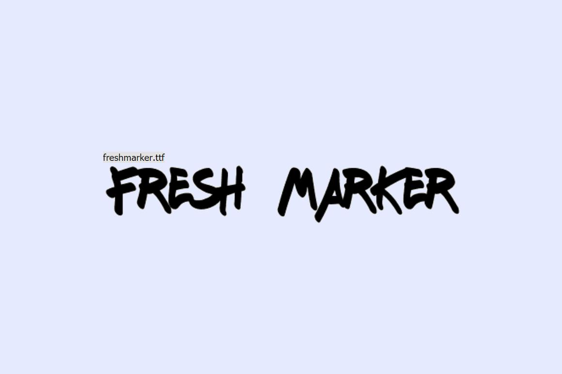 Best Free Graffiti Fonts - Fresh Maker