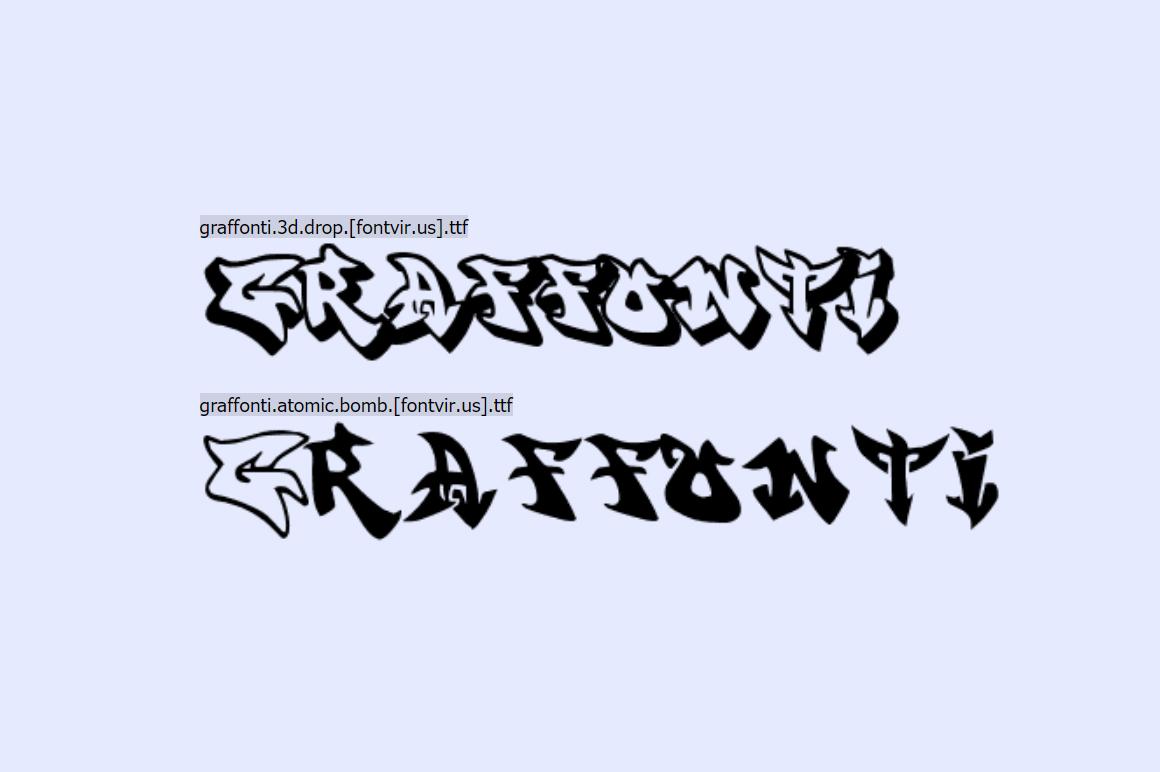 Free Graffiti Fonts - Graffont