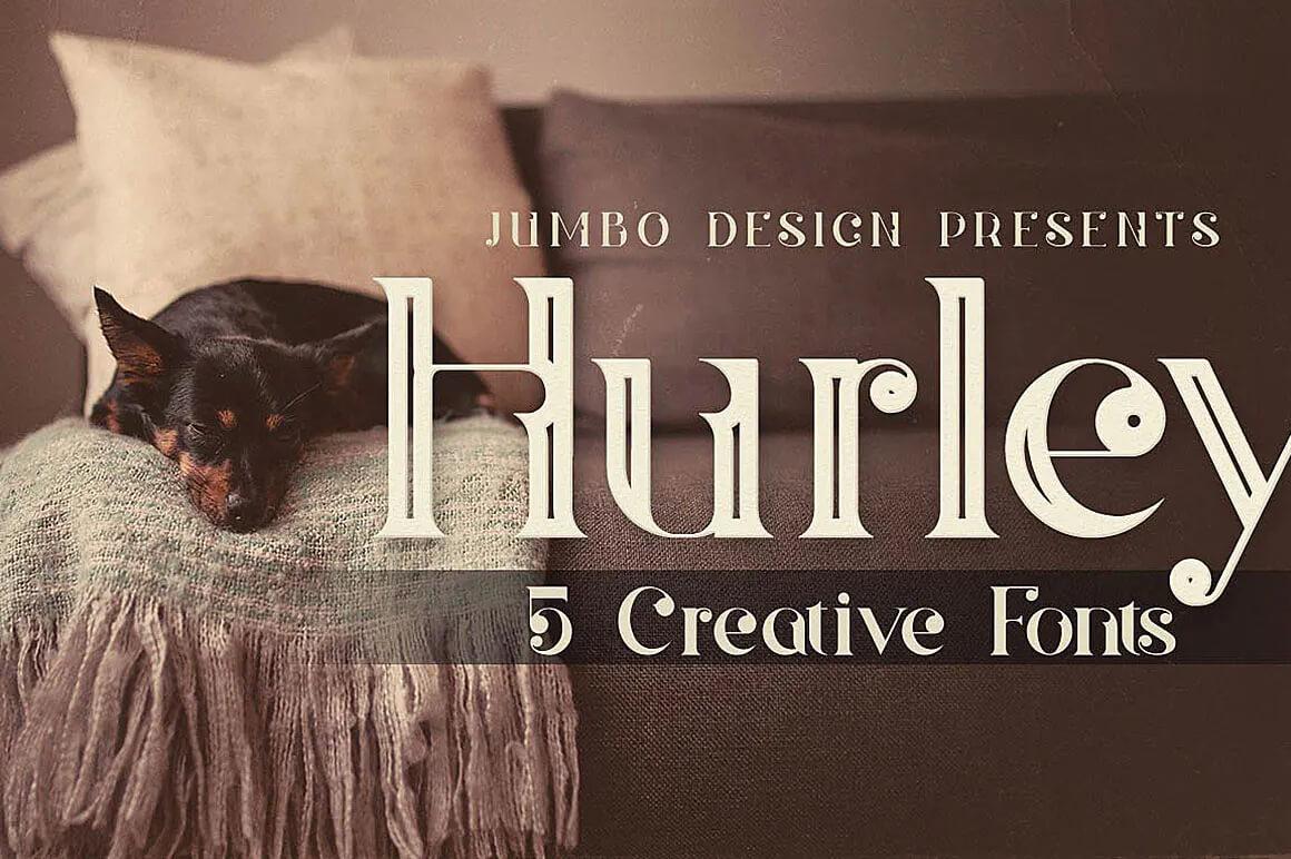 Hurley - Outline Font