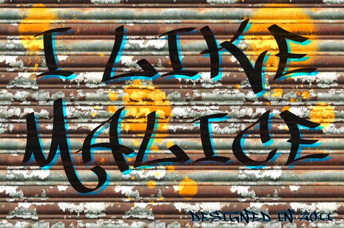 Best Free Graffiti - I Like Malice