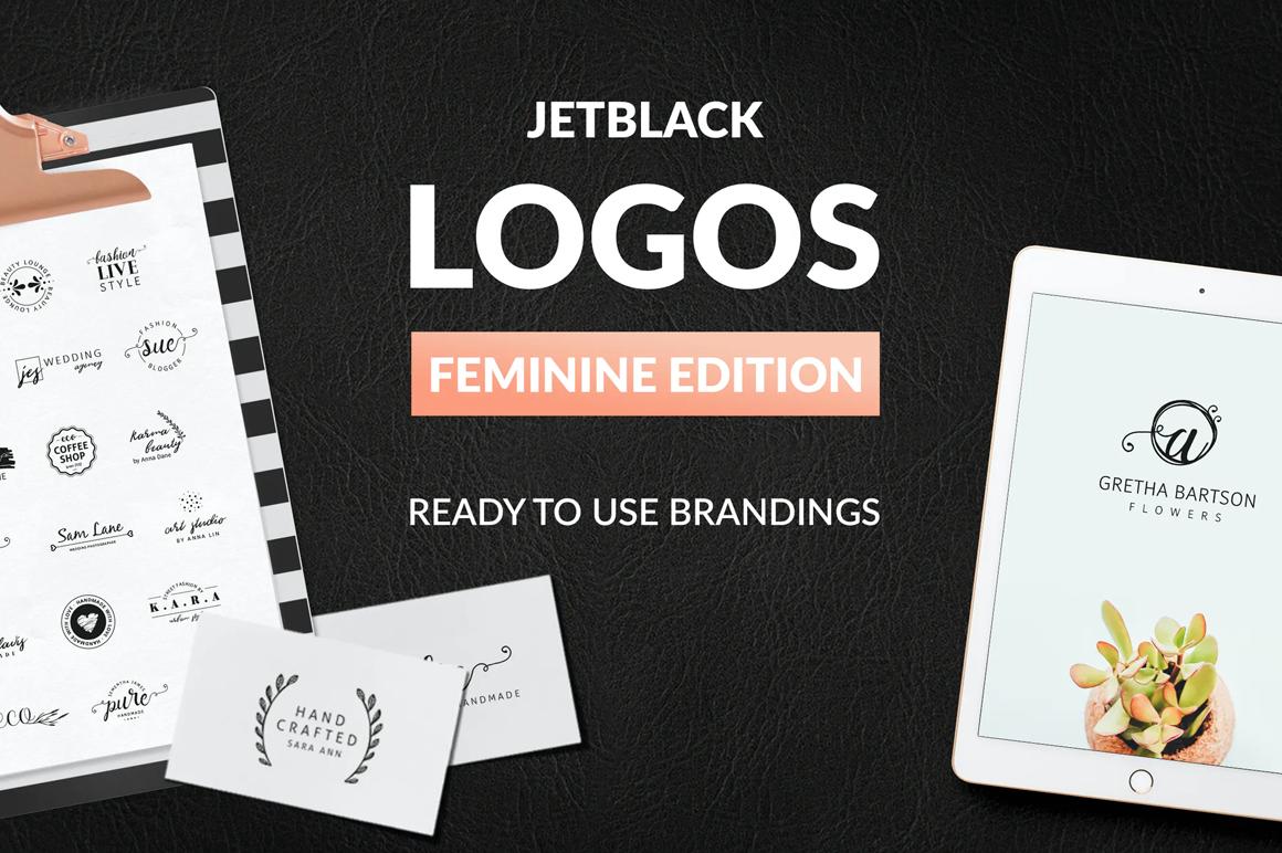 Best Premium Logo Design Font - 30 Premade Logos