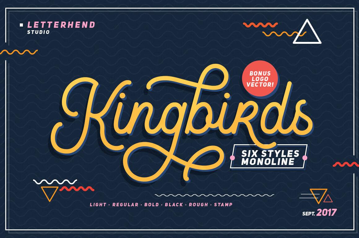 Graffiti Letters Font - King Bird