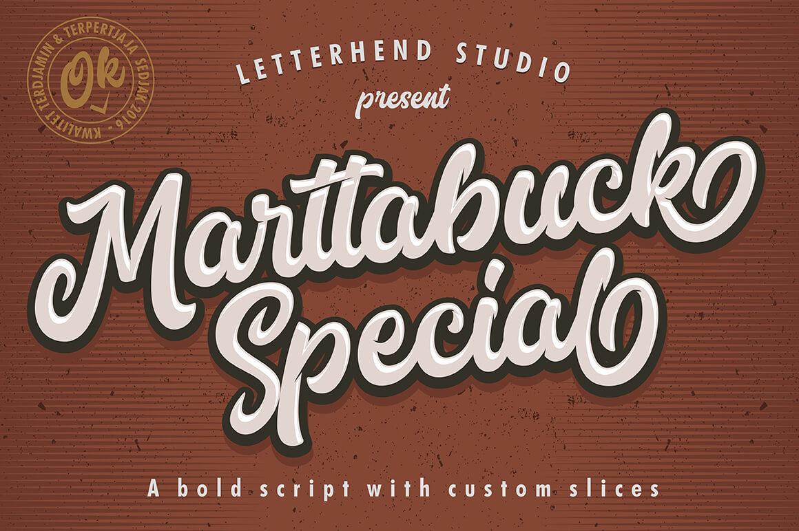 Graffiti Letters Font - Marttabuck