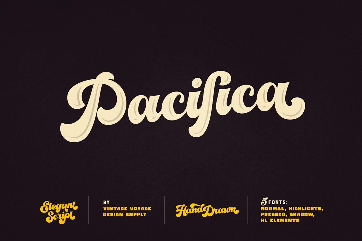 Best Graffiti Font - Pacifica