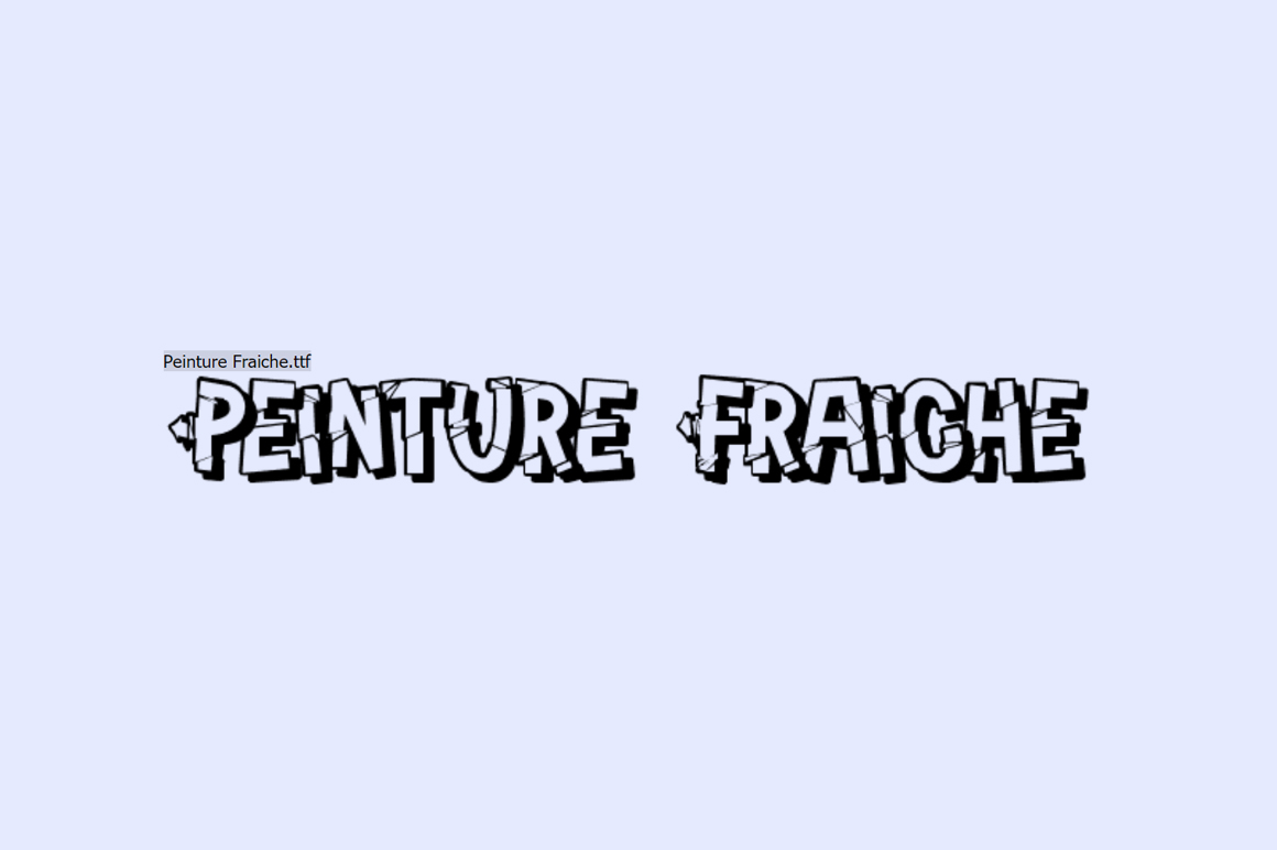 Free Graffiti Font - Penture
