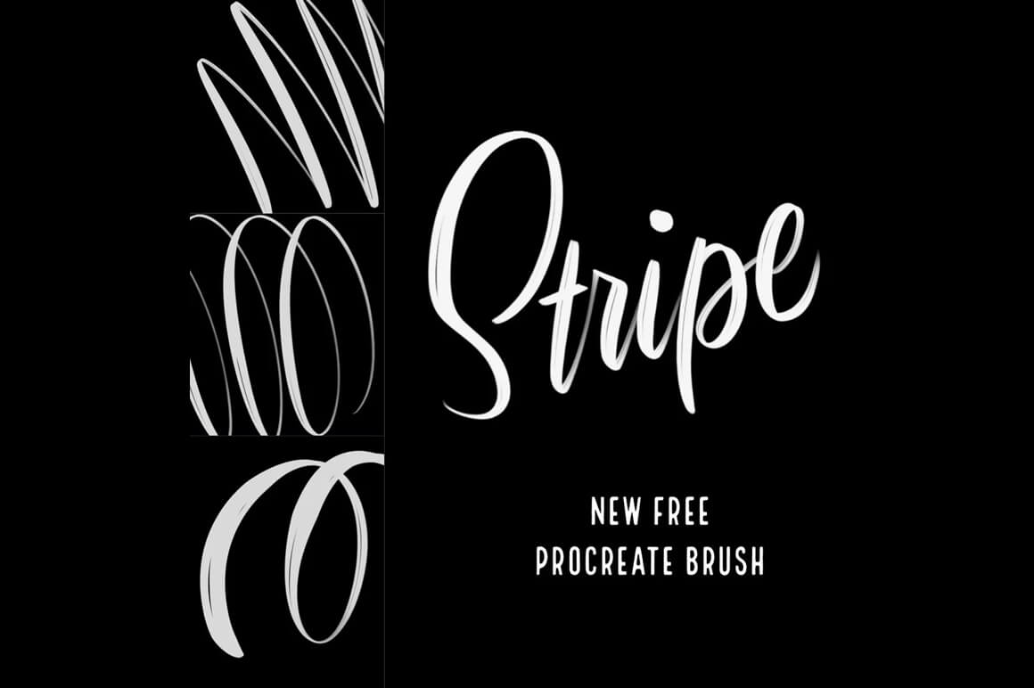 Texture Brushes For Procreate - Stripe