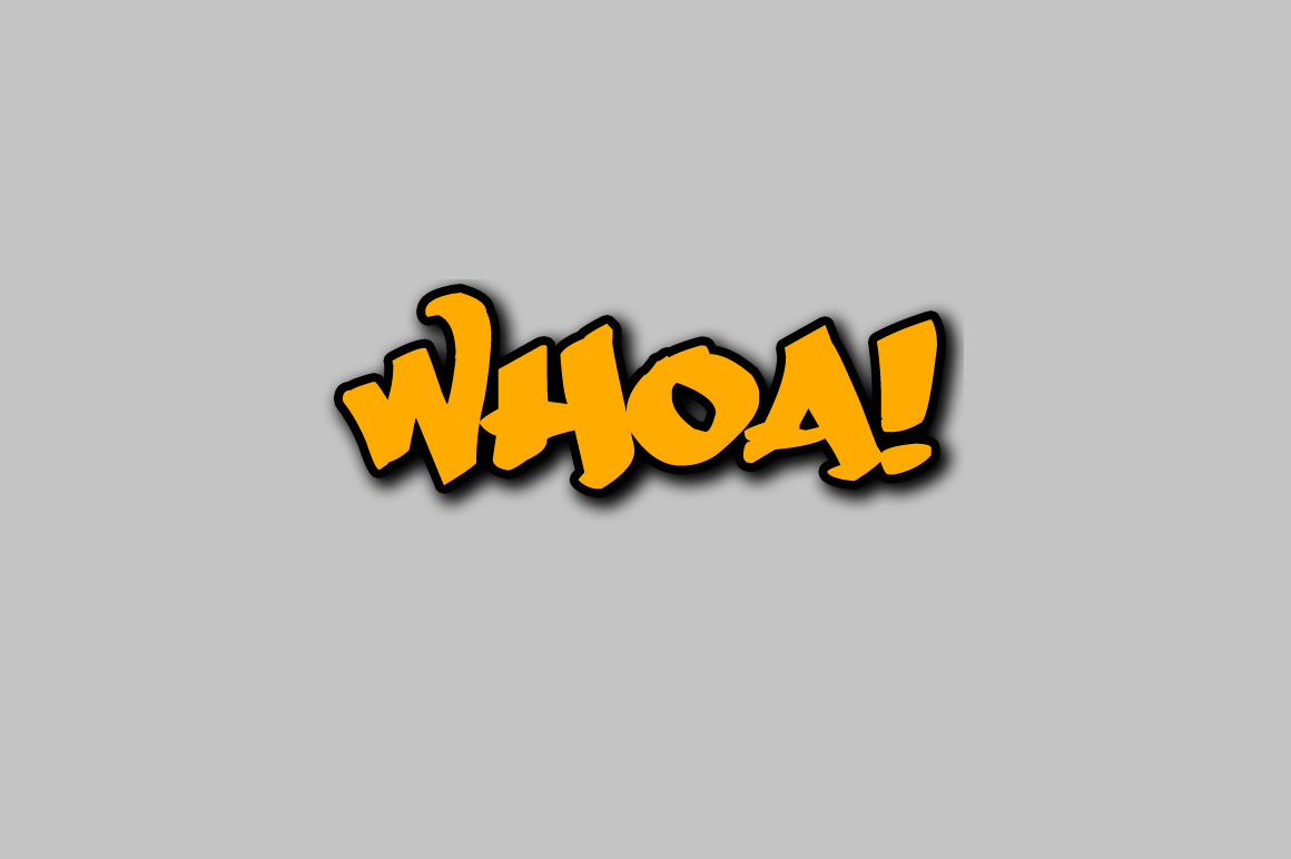 Free Graffiti Fonts - Whoa