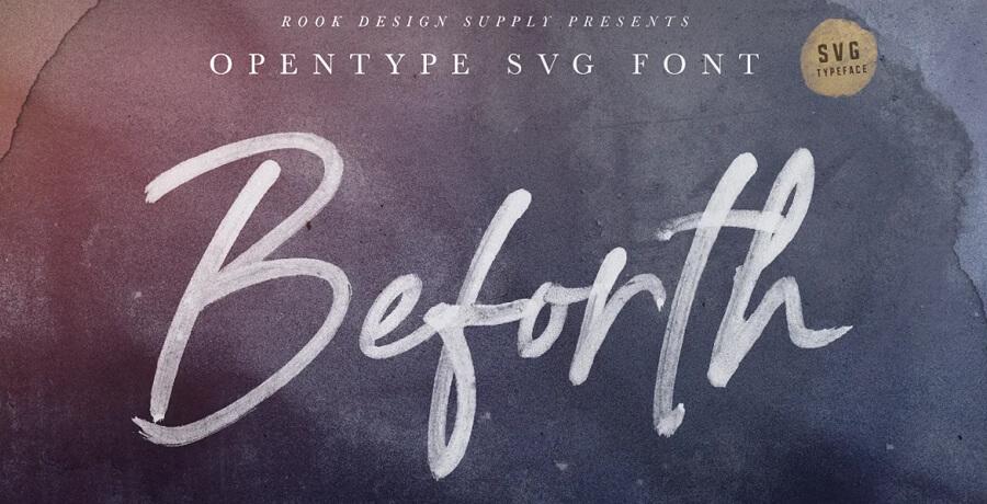 Svg Font For Designers -