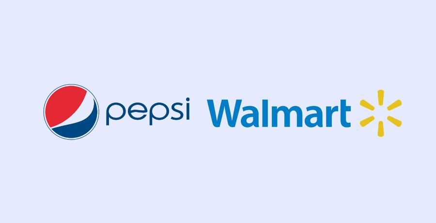 Pepsi & Walmart - Blue Logo