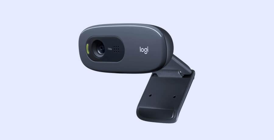Best Webcams For Designers - Logitech HD Webcam C270