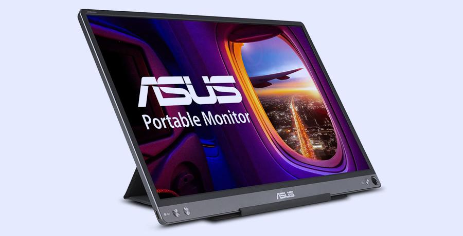 Portable Monitor For Designers - ASUS ZenScreen