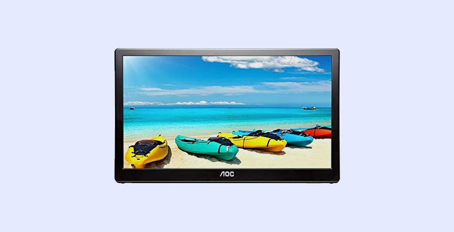 Best Portable Monitor For Designers - AOC e1659FWUX