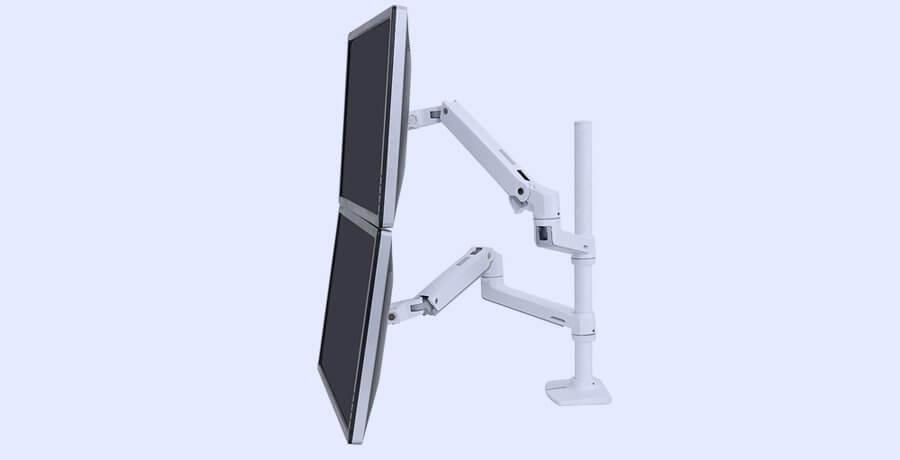 Monitor Arm For Designers - Ergotron LX Dual