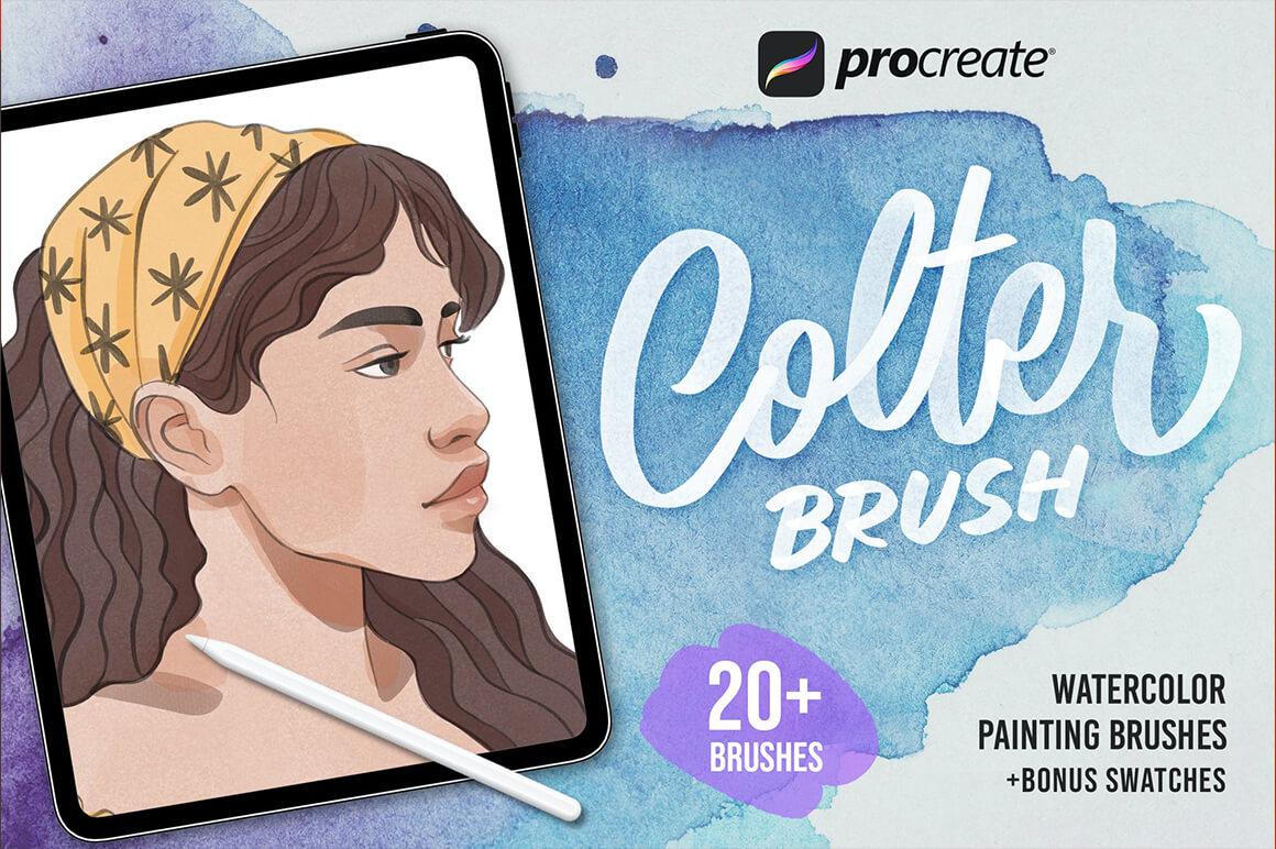 Procreate Brush Font