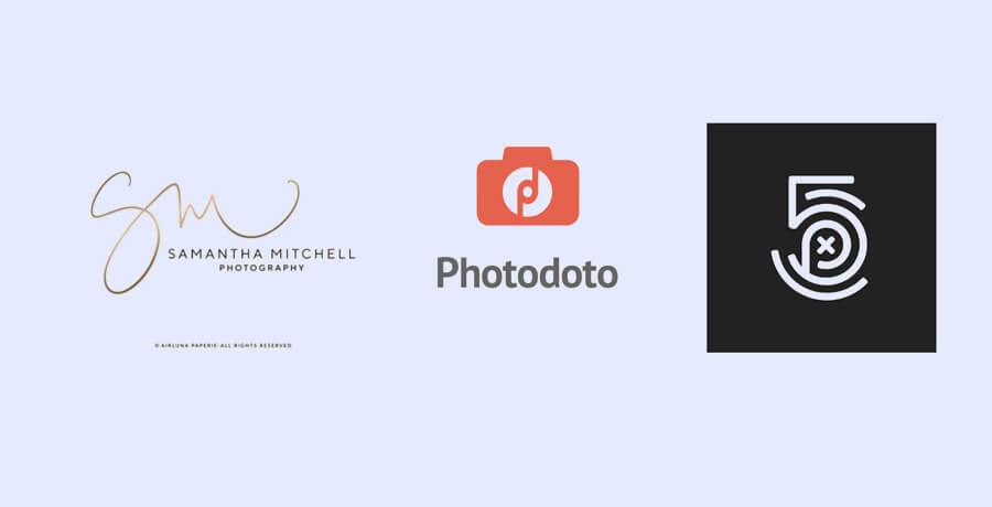 Blog Logo Design - Photography Blog