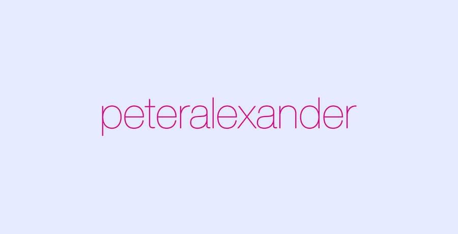 Clothing Brand - Peteralexandra