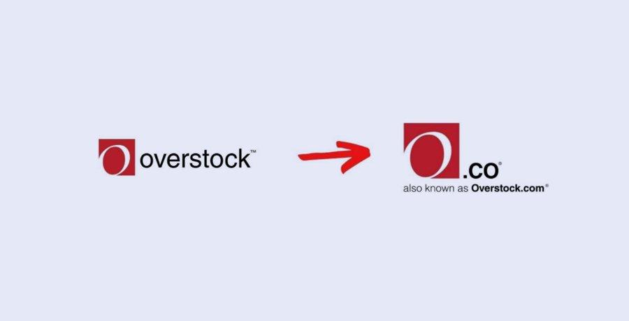 Overstock - Logo Redesign
